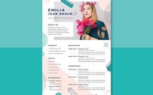 Free Fashion Photographer Resume Template