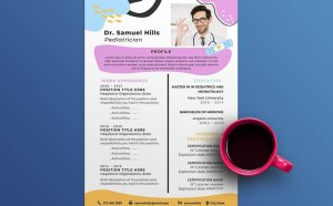 Free Pediatrics Resume Template