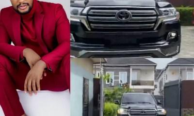 Actor, Alex Ekubo acquires a Toyota Landcruiser