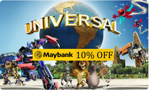 Maybank Cards Privileges at Universal Studios Singapore 2016