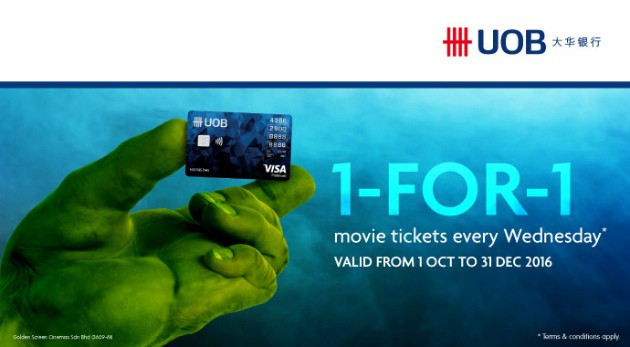 UOB YOLO Card BUY 1 FREE 1