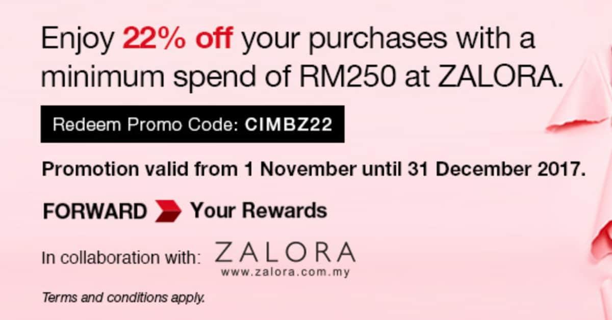 Zalora Malaysia Promotion