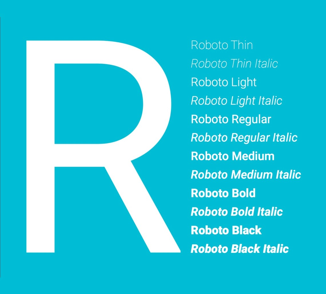 Download Roboto Font Free for Web and Mobile - FreebiesUI