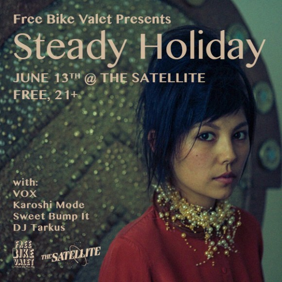 Steady-Holiday-Free Bike Valet -June-13
