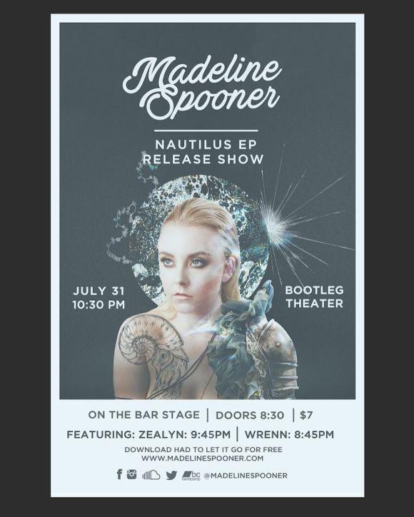 Nautilus EP Release Poster