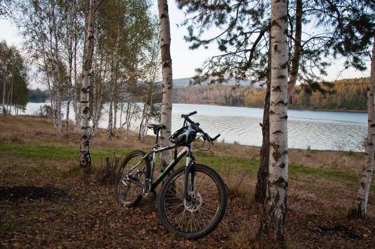 Na kraju vožnje na Vlasinskom jezeru
