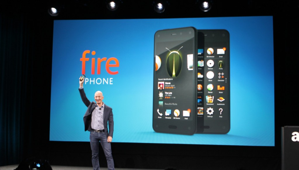 Amazon Announces The $199 Fire Phone, The First Smartphone With Head-Tracking Technology
