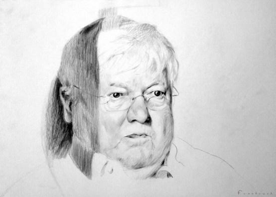 Pencil Sketch_04- Pencil & Oil Pitt Base Pencils