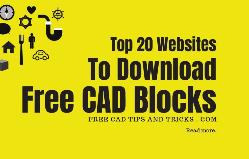 Groovy Top 20 Webites To Download Free Cad Blocks Autocad Blocks Gmtry Best Dining Table And Chair Ideas Images Gmtryco