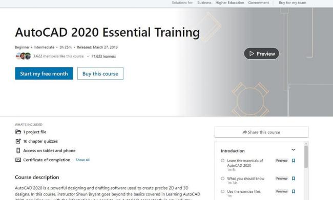 16- AtuoCAD Free Training course and Videos online