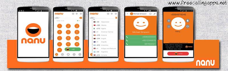 nanu for free calls.