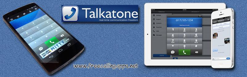 Talkatone free calls.