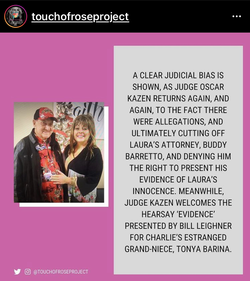 @TouchOfRoseProject: In Jan 29, 2019 non-evidentiary hearing, Judge Oscar Kazen shows clear judicial bias as he returns again and again to allegations brought by Frost Bank against Laura Martinez that were never proven, never admitted into court, and ultimately disregarded as false.