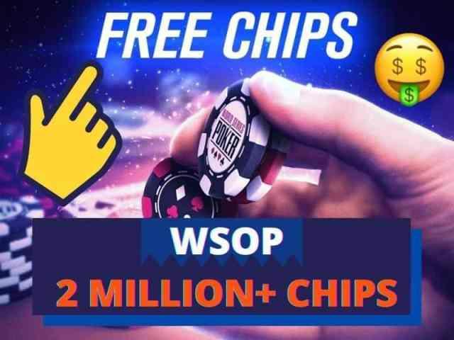 Active WSOP Free Chips
