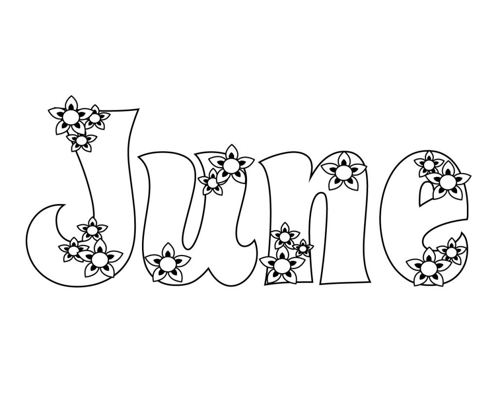 Unique June Coloring Pages You Will Definitely Love June Coloring Pages Free Printable To Print For Adult