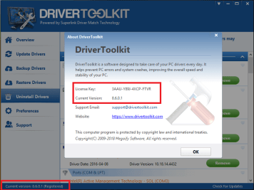 Driver Toolkit key