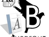 BirdFont for Windows 3.12.3