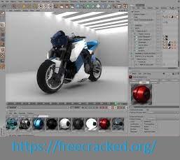 CINEMA 4D Crack + License Key Free Download