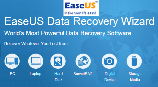 EaseUS Data Recovery Wizard v9.5 Crack 2016 [Latest]