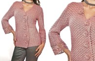 Female Crochet Blouse: See the free standard and stay in fashion