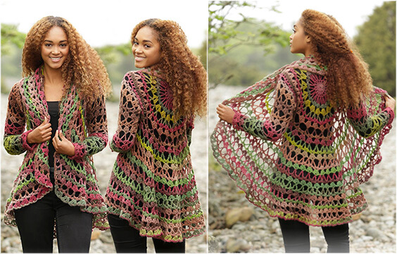Crochet Cardigan: See the Free Pattern and make it yourself - YARN ...