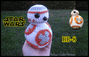 BB-8 from Star Wars Crochet Pattern Written