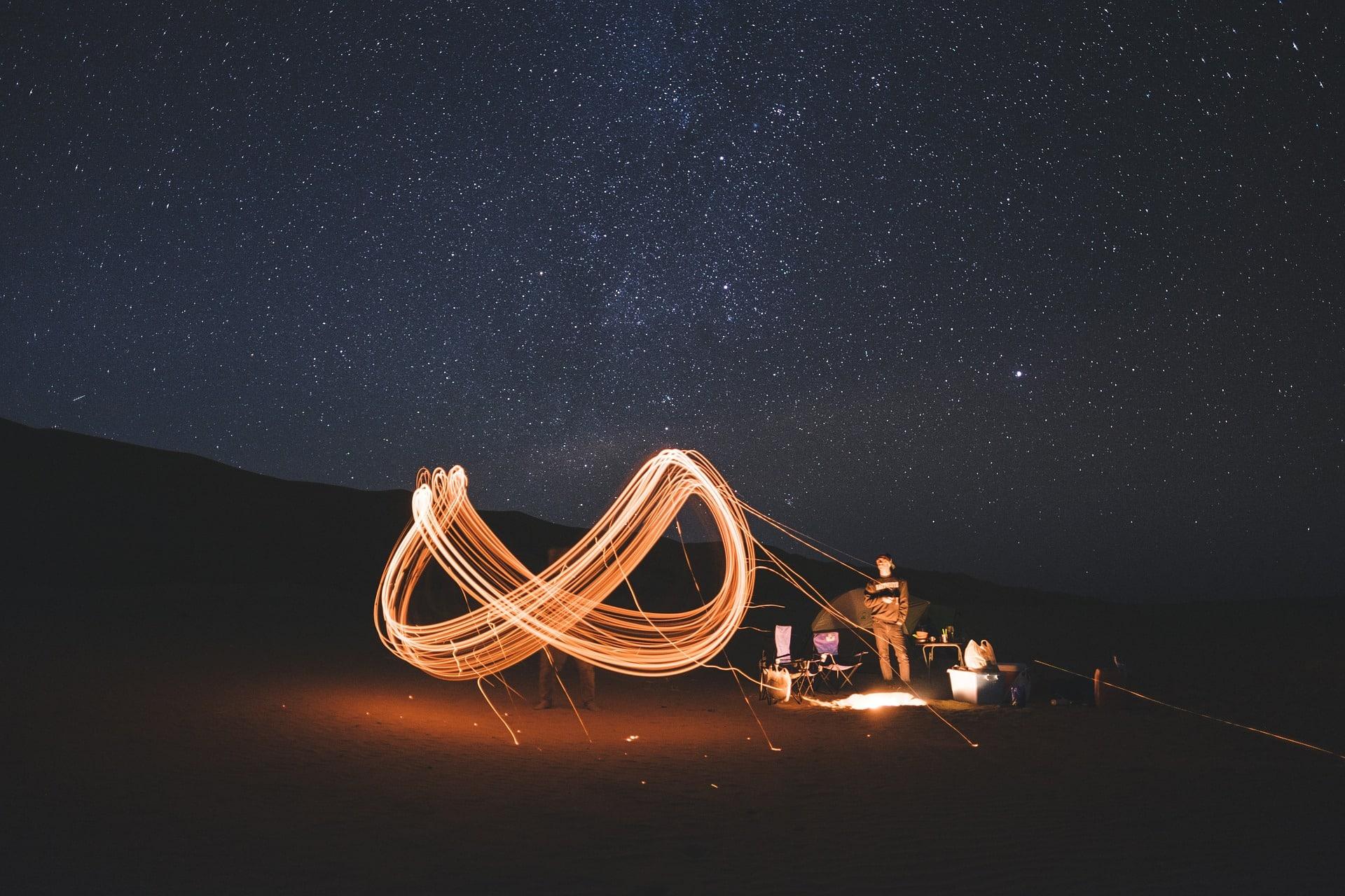 paysage nuit van