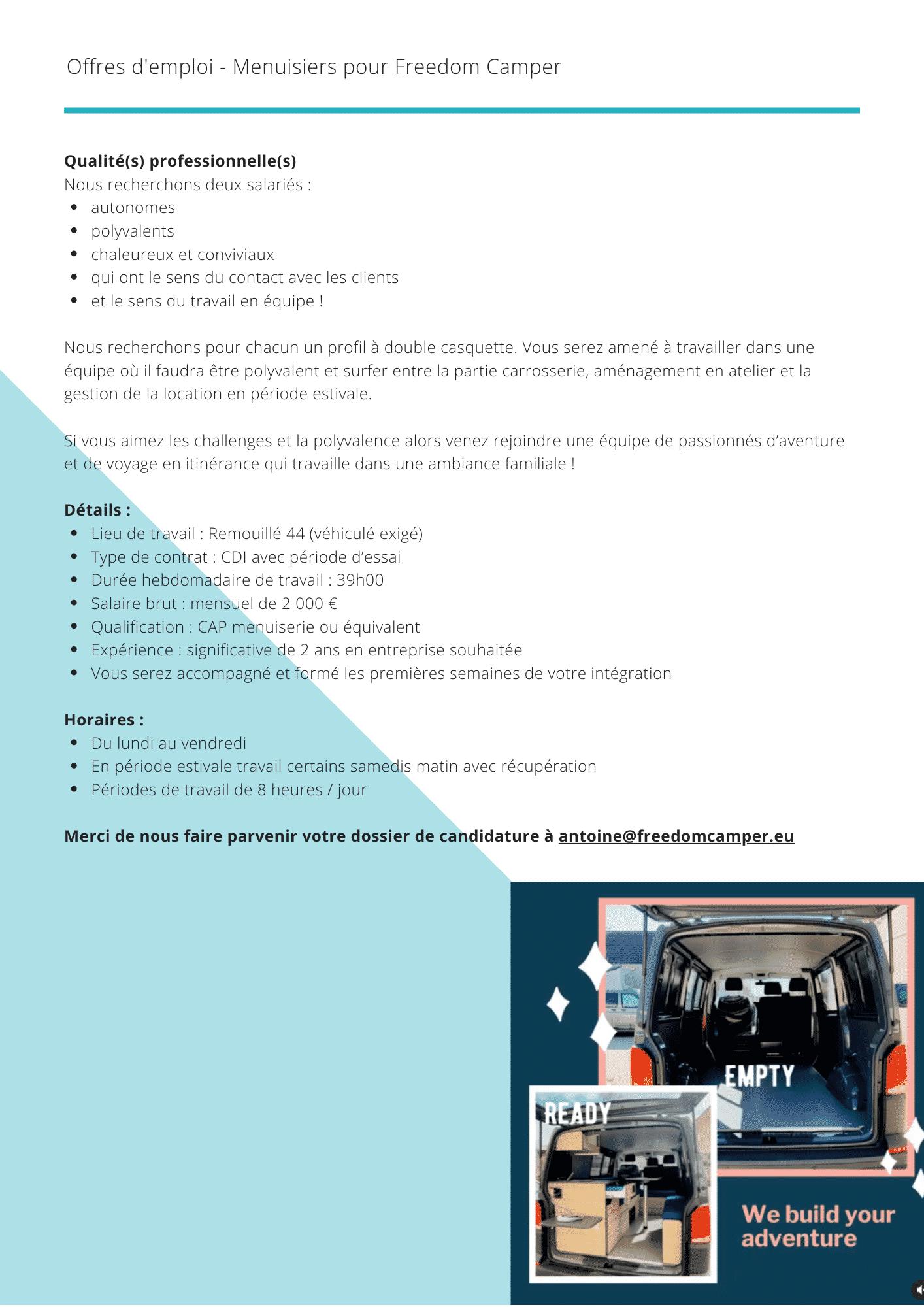OFFRES-EMPLOI-MENUISIER-NANTES-3 Offres d'emploi