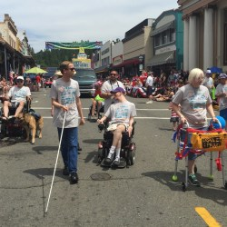 FREED marches in the parade