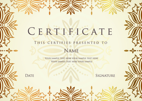 Award Paper Template table tent template word incheonfair award – Best Certificate Templates