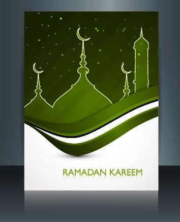 Ramadan Kareem Flyer Cover Vector 04 Vector Cover Free