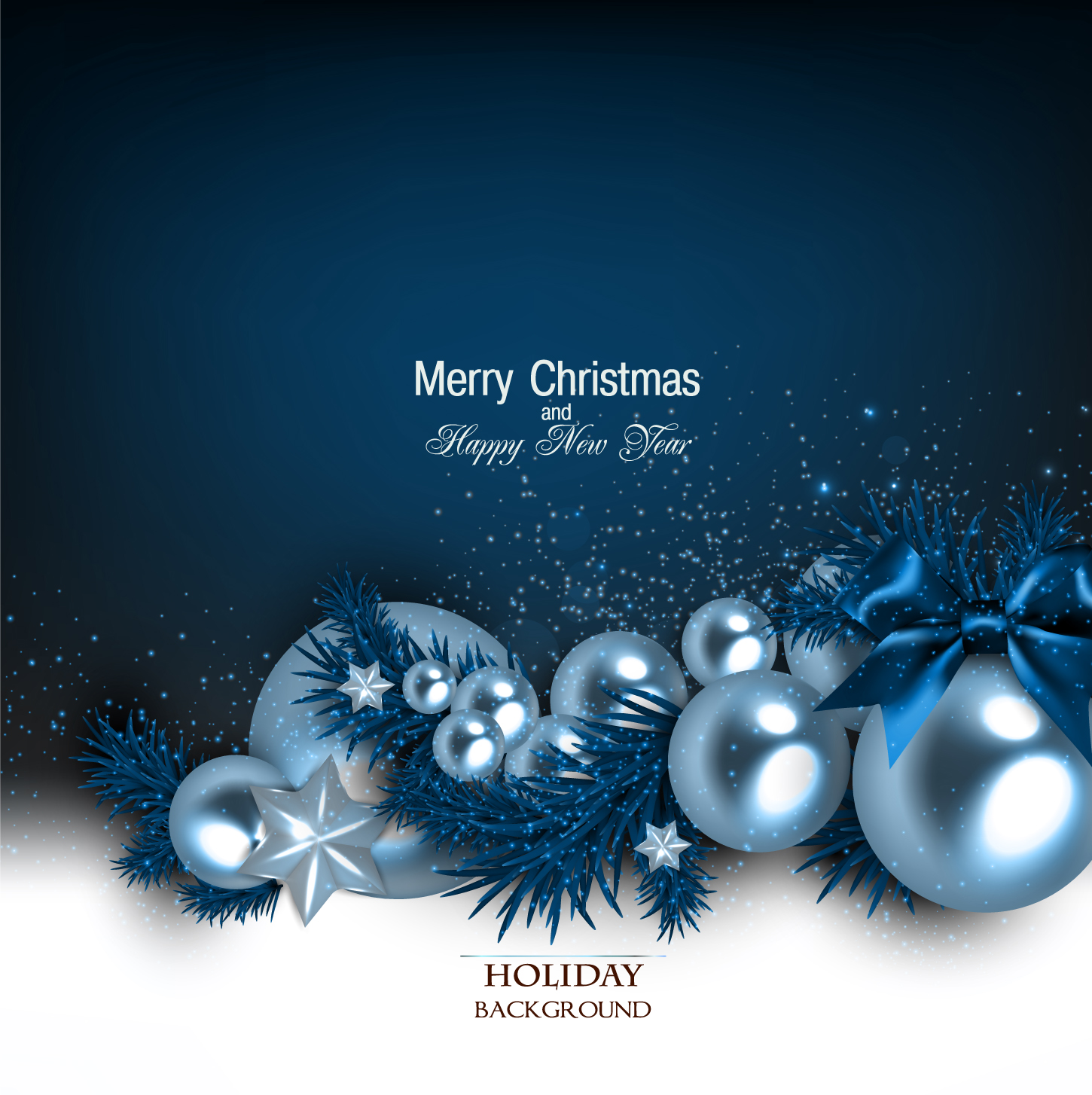 Shiny Christmas Holiday Background Vectors 02 Free Download