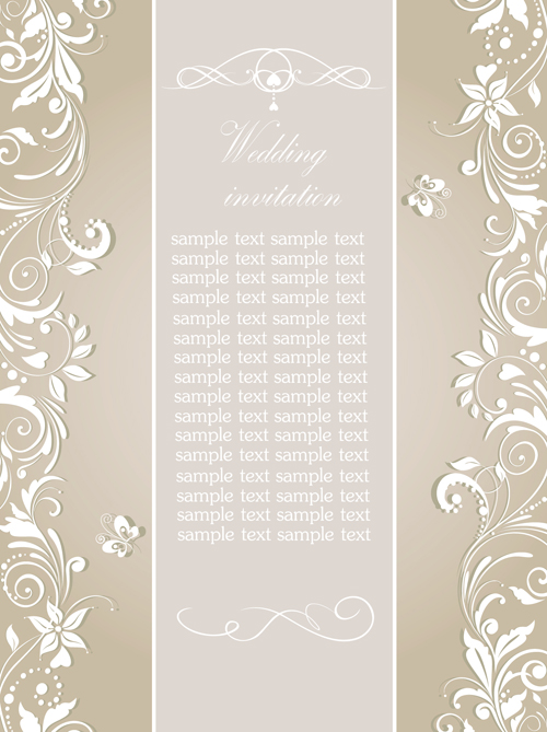 Powerpoint Template Wedding Invitation Free  Wedding Invitation