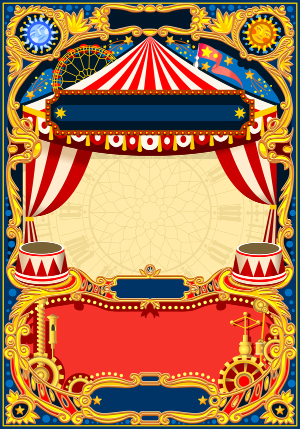 Blank Carnival Flyer Template - FREE DOWNLOAD - Printable ...