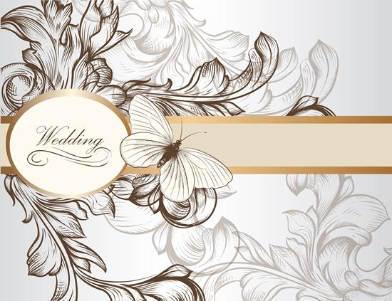 Fl Wedding Invitation Background 1
