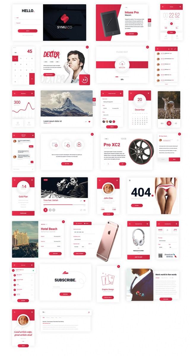 30 Elements UI Kit