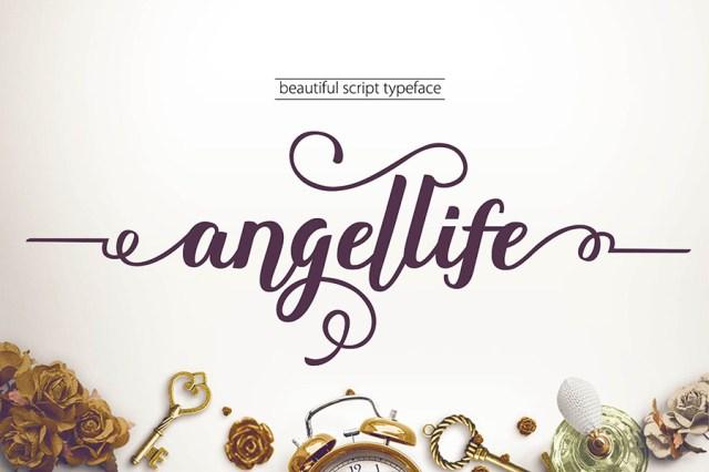 Angellife-Free-Font