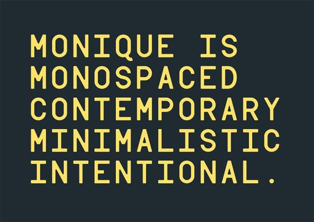 monique-contemporary-free-font