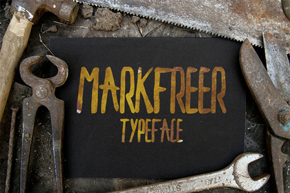 markfreer-free-font