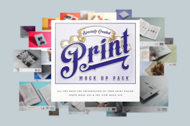 Free Print Mock Up Pack