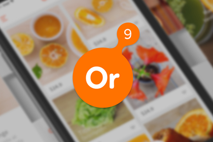 Orange9 Free Mobile App UI