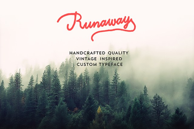 Runaway - Free Font