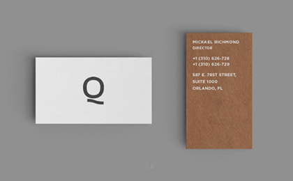 Free Business Card Mokup