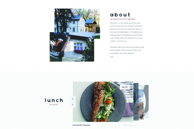 Renome Restaurant - Free Template