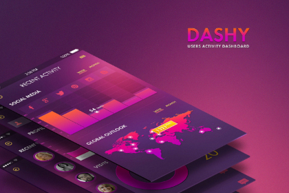 Dashy - Mobile UI Kit