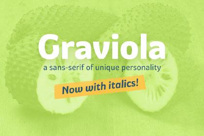 Graviola Typeface