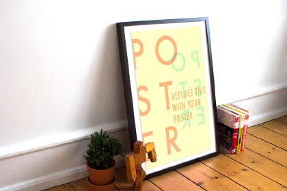 Free Poster - Frame Mockup