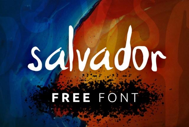 Salvador - Handwriting Font