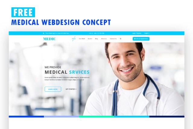 Free Medical Webdesign Concept