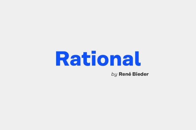 Rational Typeface Free Demo